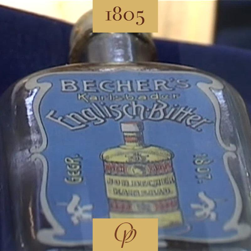 Becherovka as a present from England