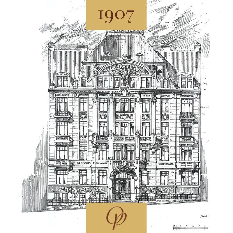 Stavebníkem hotelu Josef Waldert
