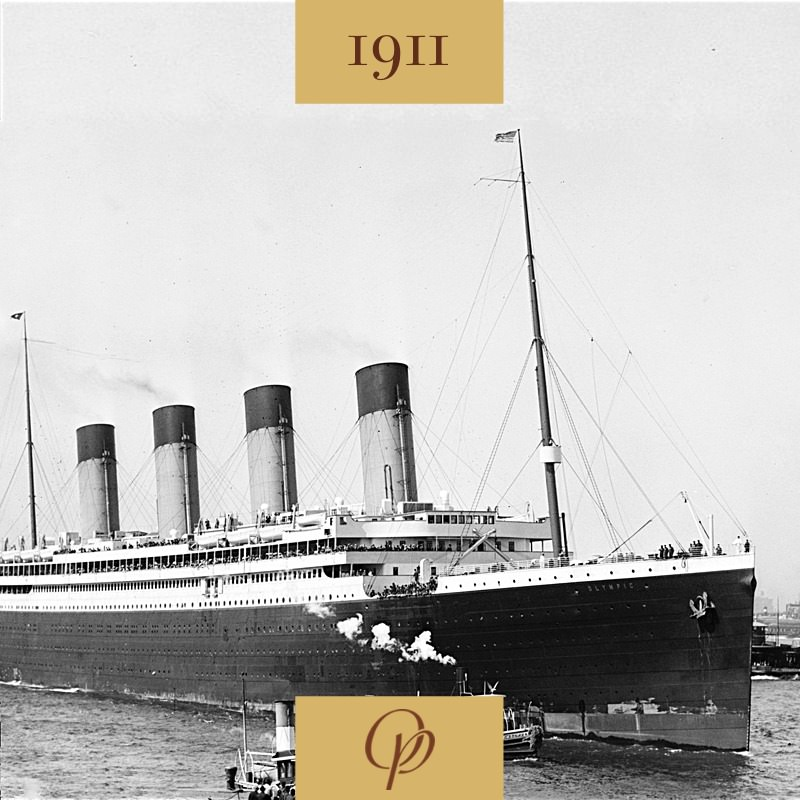 Vyplouvá zaoceánská loď Olympic